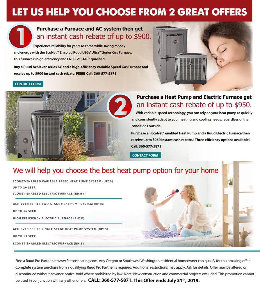 Heat Pump Offer